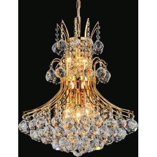 House of Hampton Trenton 10-Light Crystal Chandelier