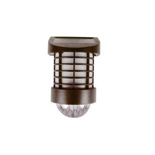 ForeverGiftsInc. Solar 1 Light LED Fence Post Cap