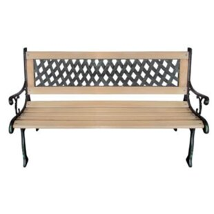 Wooden Bench by Charlton Home