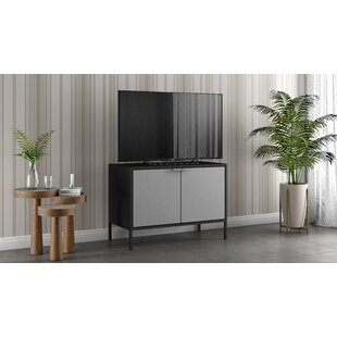 Rayford Low Wide Storage Cabinet by Ebern Designs