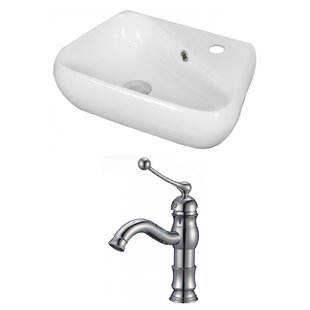 Find the perfect Ceramic Specialty Vessel Bathroom Sink with Faucet and Overflow By Royal Purple Bath Kitchen