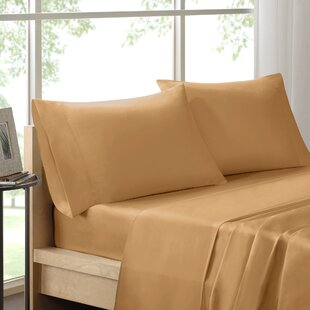 Poe 600 Thread Count Pima Solid Cotton Sheet Set by The Twillery Co. Spacial Price