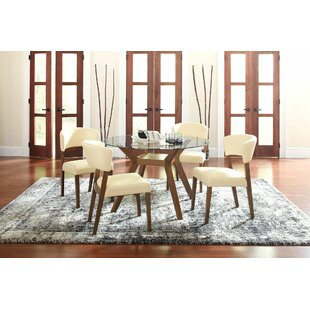 Prunty 5 Piece Dining Set by Brayden Studio Top Reviews