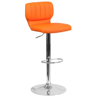 Magnificent Hellwig Adjustable Height Swivel Bar Stool Dailytribune Chair Design For Home Dailytribuneorg
