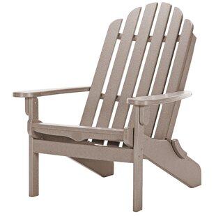 Sharee Plastic/Resin Folding Adirondack Chair