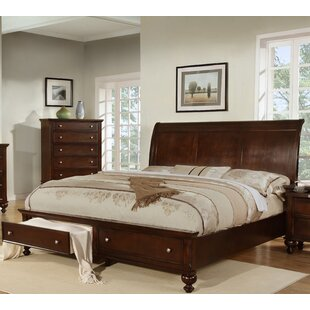 Best Price Asher Storage Sleigh Bed By Wildon Home ®