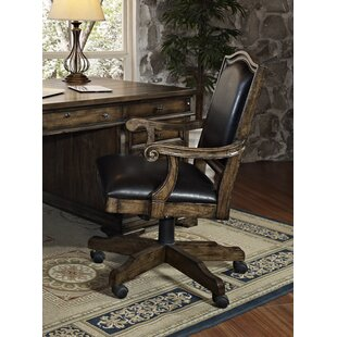 San Andorra Mid-Back Leather Office Chair