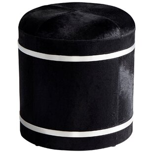 Fabulous Hyde on Cowhide Accent Stool by Cyan Design