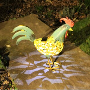 Abi Cockerel Statue By Brambly Cottage