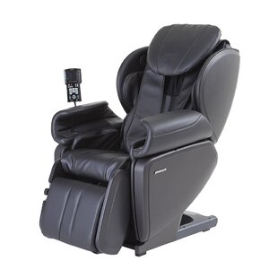 Ultra High Performance Deep Tissue Japanese Designed 4D Massage Chair with Ottoman by Latitude Run