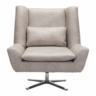 Aarav Capone Swivel Lounge Chair by Orren Ellis 2019 Sale