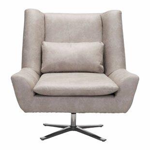 Aarav Capone Swivel Lounge Chair by Orren Ellis