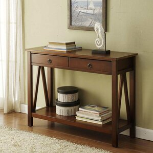 Delightful Brassiewood Console Table