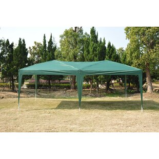 10 Ft. W x 20 Ft. D Steel Pop Up Canopy by Outsunny