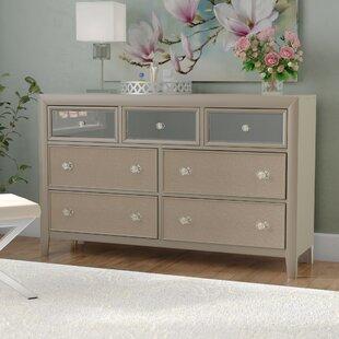 Gottfried 7 Drawer Standard Dresser
