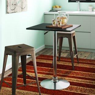 Madeline Adjustable Height Pub Table Zipcode Design