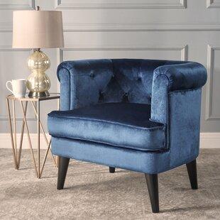Buy luxury Alyshia Barrel Chair by Mercer41 Reviews (2019) & Buyer's Guide