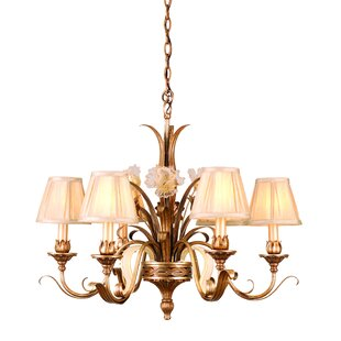 Astoria Grand Mccormick 6-Light Shaded Chandelier