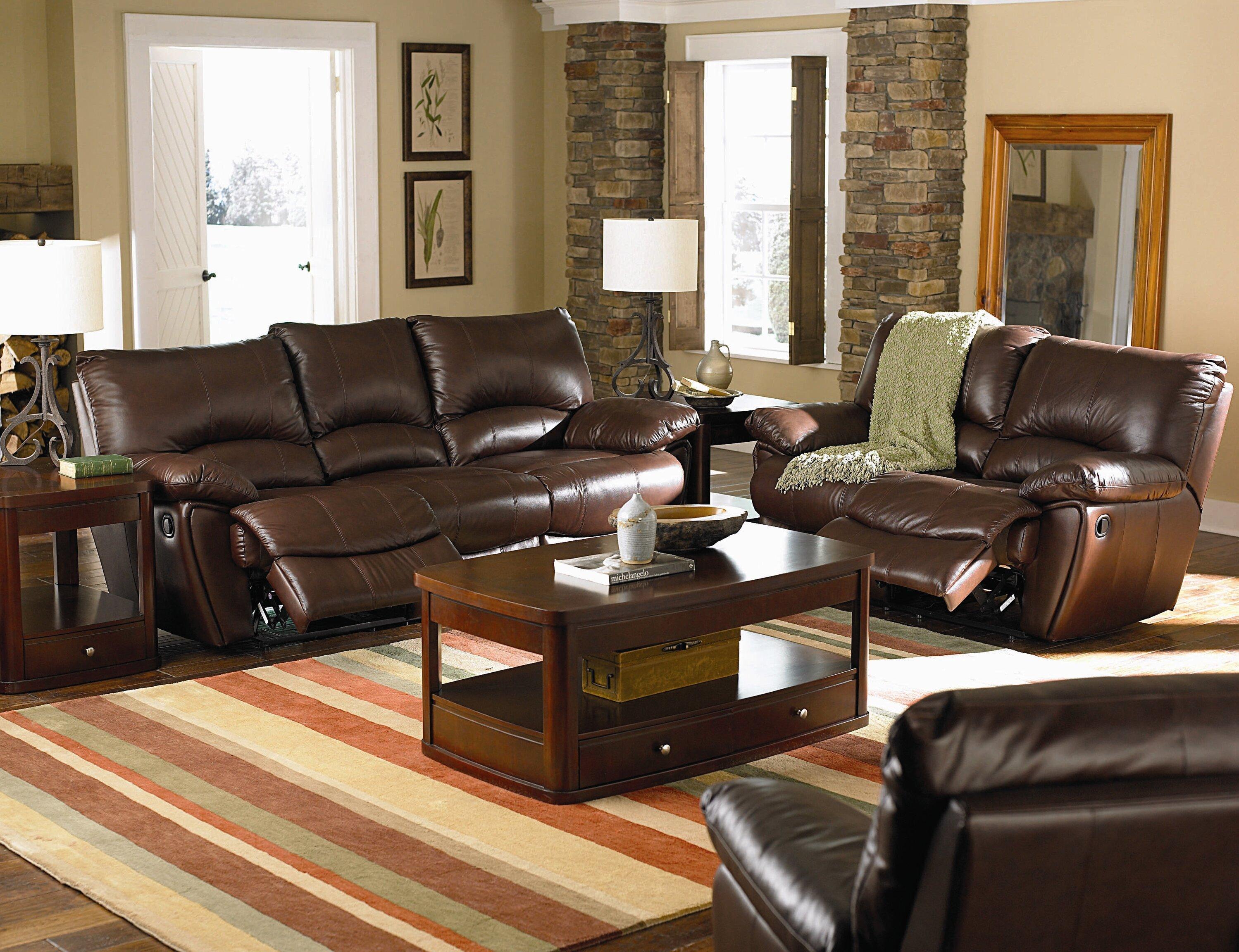 Wildon Home Configurable Reclining Living Room Set Wayfair