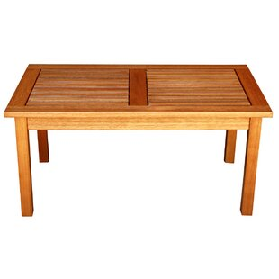 Cadsden Solid Wood Coffee Table