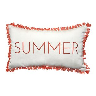 Outdoor Pillow With Fringe | Wayfair