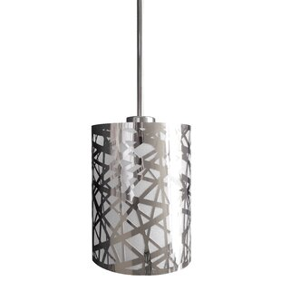 Mercer41 Clarens 1-Light Cylinder Pendant