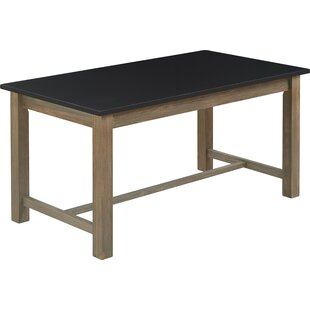 Finch Elmhurst Dining Table, Black and Weathered Grey Tommy Hilfiger