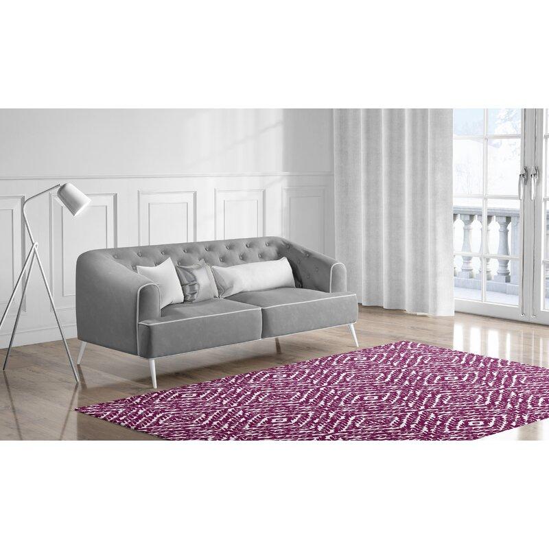 Bungalow Rose Dority Purple Plum Rug Reviews Wayfair