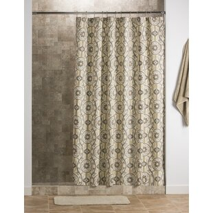 Compare Gilberto 100% Cotton Shower Curtain By Darby Home Co