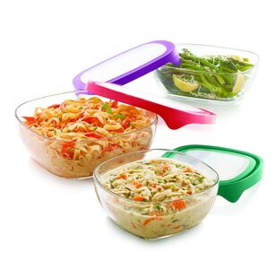 3 Container Food Storage Set