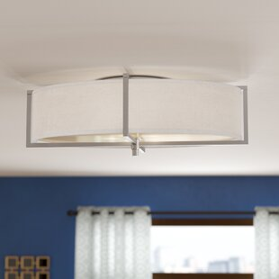 Brayden Studio Benavidez 6-Light Flush Mount