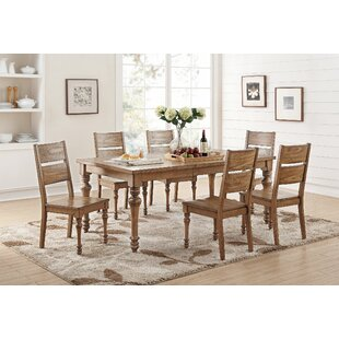 Mahika 7 Piece Dining Set by Ophelia & Co.
