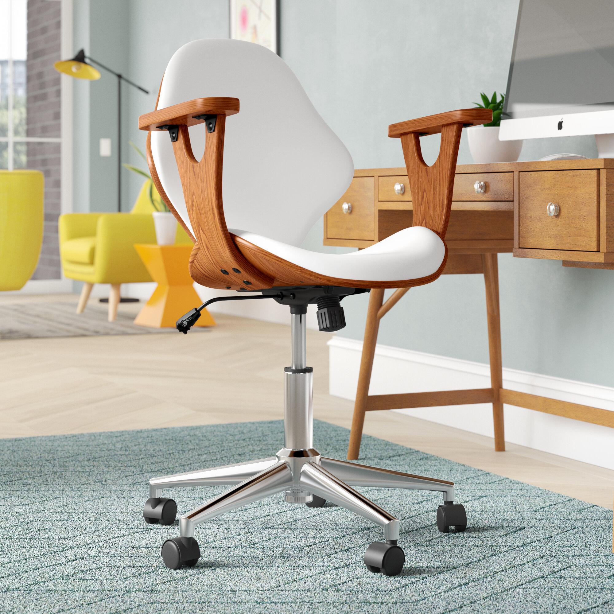 Mid Century Modern Office Chairs Desks You Ll Love In 2021 Wayfair