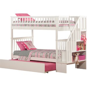 Shyann Bunk Bed with Trundle by Viv + Rae