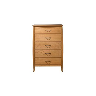 Gerth 5 Drawer Chest by Red Barrel Studio New