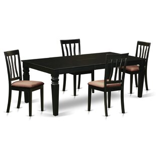 Ansara 5 Piece Dining Set DarHome Co
