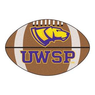 NCAA University Of Wisconsin-Stevens Point Football Mat By FANMATS