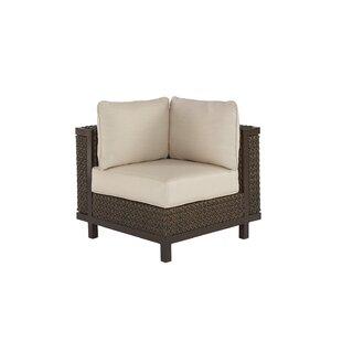Gracie Oaks Corner chair with Cushions