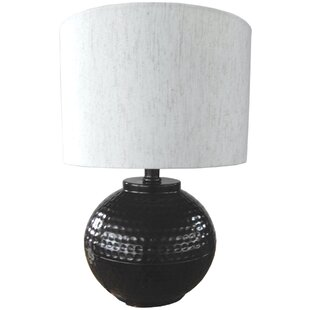 Hammered Metal 18 Table Lamp