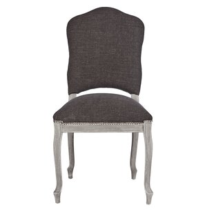 Painted West Upholstered Dining Chair Aidan Gray