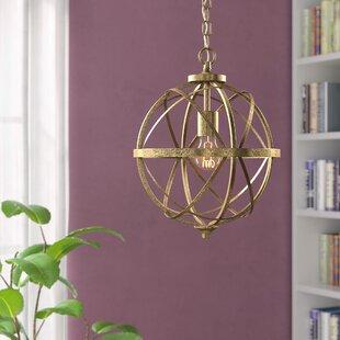 Bargain Tokai 1-Light Globe Pendant By Mercury Row