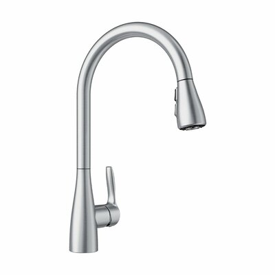 Atura Single Handle Kitchen Faucet Blanco Finish Stainless