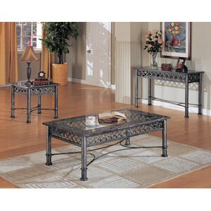 mission shaker coffee table sets you'll love | wayfair