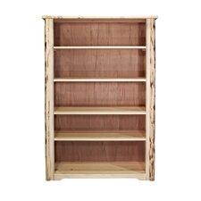 Abordale 63 Rustic Standard Bookcase by Loon Peak