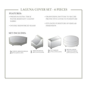Laguna Winter 6 Piece Cover Set by TK Classics
