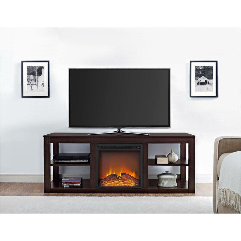 Fireplace Design fireplace stands : Wade Logan Salma 59