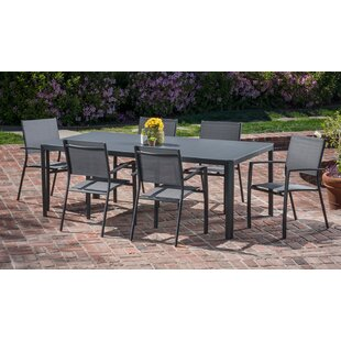 Latitude Run Ferris 7 Piece Dining Set