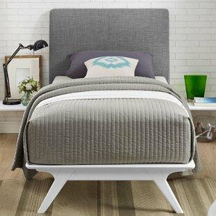 Shop For Hannigan 3 Piece Upholstered Platform Bed Set by Langley Street Reviews (2019) & Buyer's Guide