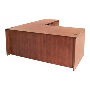 Linh L-Shaped Executive Desk With 4 Drawers by Latitude Run Top Reviews