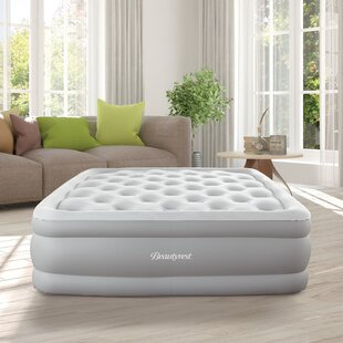 Skyrise Full Raised Express Air Mattress with Electric Pump